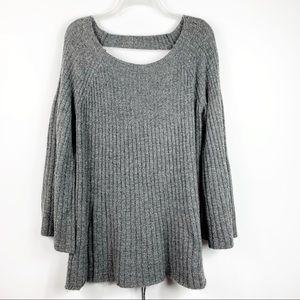 Lauren Conrad | Laceup Back Swing Sweater